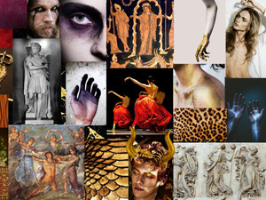 The Bacchae Concept Board