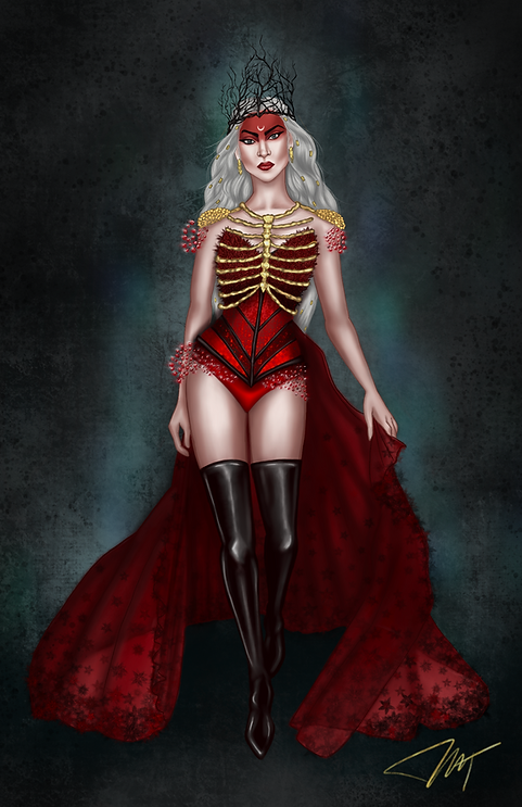 Persephone from Katabasis