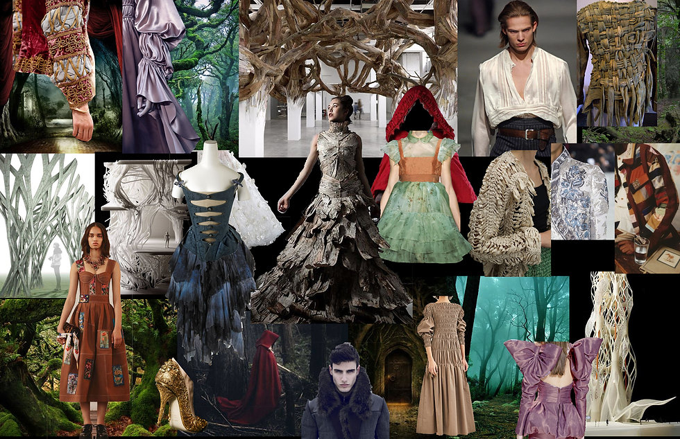Into the Woods Mood Board