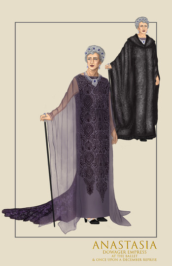 """Dowager Empress, """"At the Ballet,"""" from the musical Anastasia"""