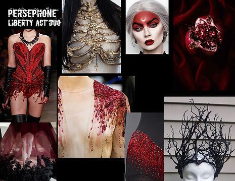 Persephone Concept Board