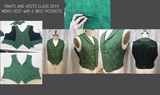 Pants and Vests Class of 2019, Man's Vest