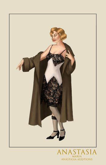 "Marfa, from the musical ""Anastasia"""