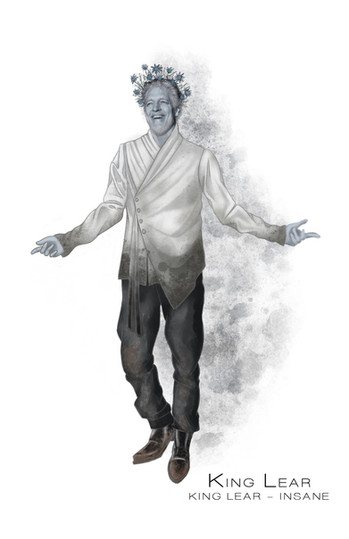 Costume Concept For Shakespeare's King Lear