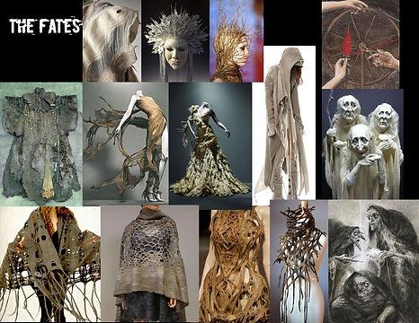 The Fates Concept Board