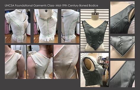 Foundational Garments Class Boned Bodice