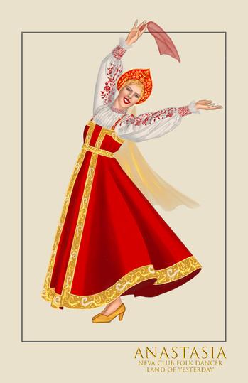 "Neva Club Dancer, ""Land of Yesterday,"" from the musical Anastasia"