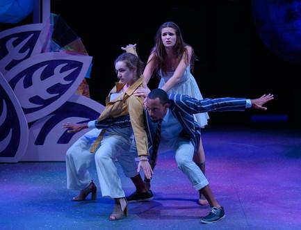 Lysander, Demetrius, and Helena