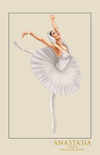 "Odette, ""Swan Lake Ballet,"" from the musical Anastasia"