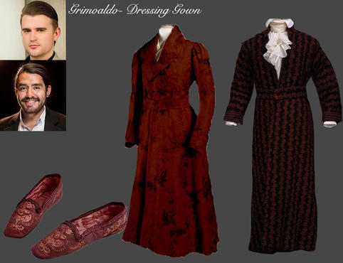 Grimoaldom- Dressing Gown