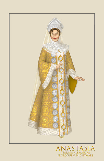 "Tsarina Alexandra, ""Prologue,"" from the musical Anastasia"