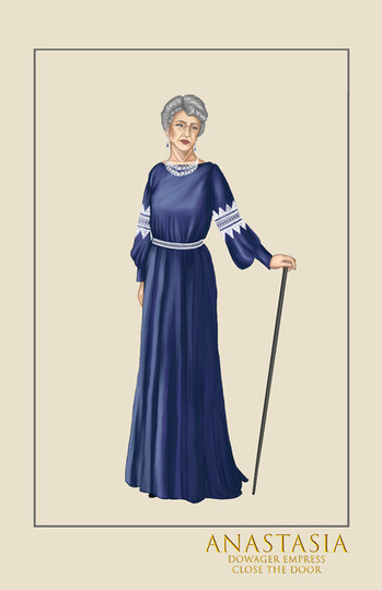 """Dowager Empress """"Close the Door,"""" from the musical Anastasia"""