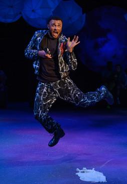 Nick Bottom as Pyramus