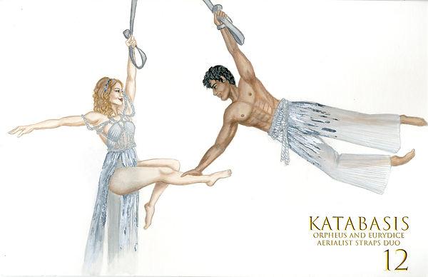 Orpheus & Eurydice - Aerial Straps Duo