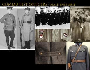 Communist Officers - Male Ensemble