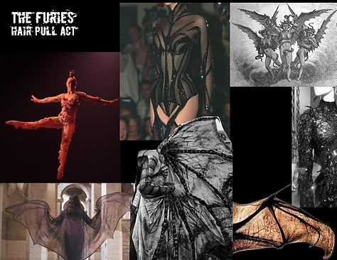 The Furies Concept Board