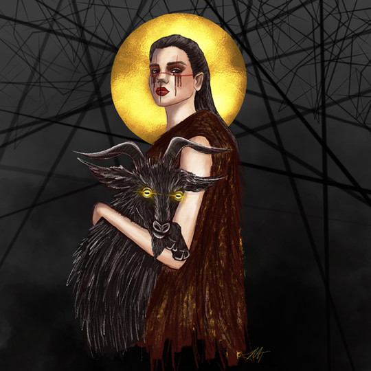 """Piece Inspired by the film """"The Witch"""""""