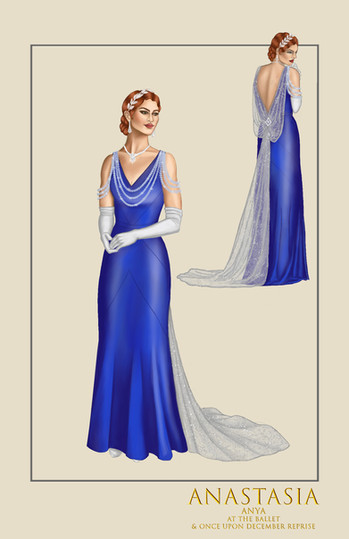 """Anya, """"At the Ballet,"""" from the musical Anastasia"""