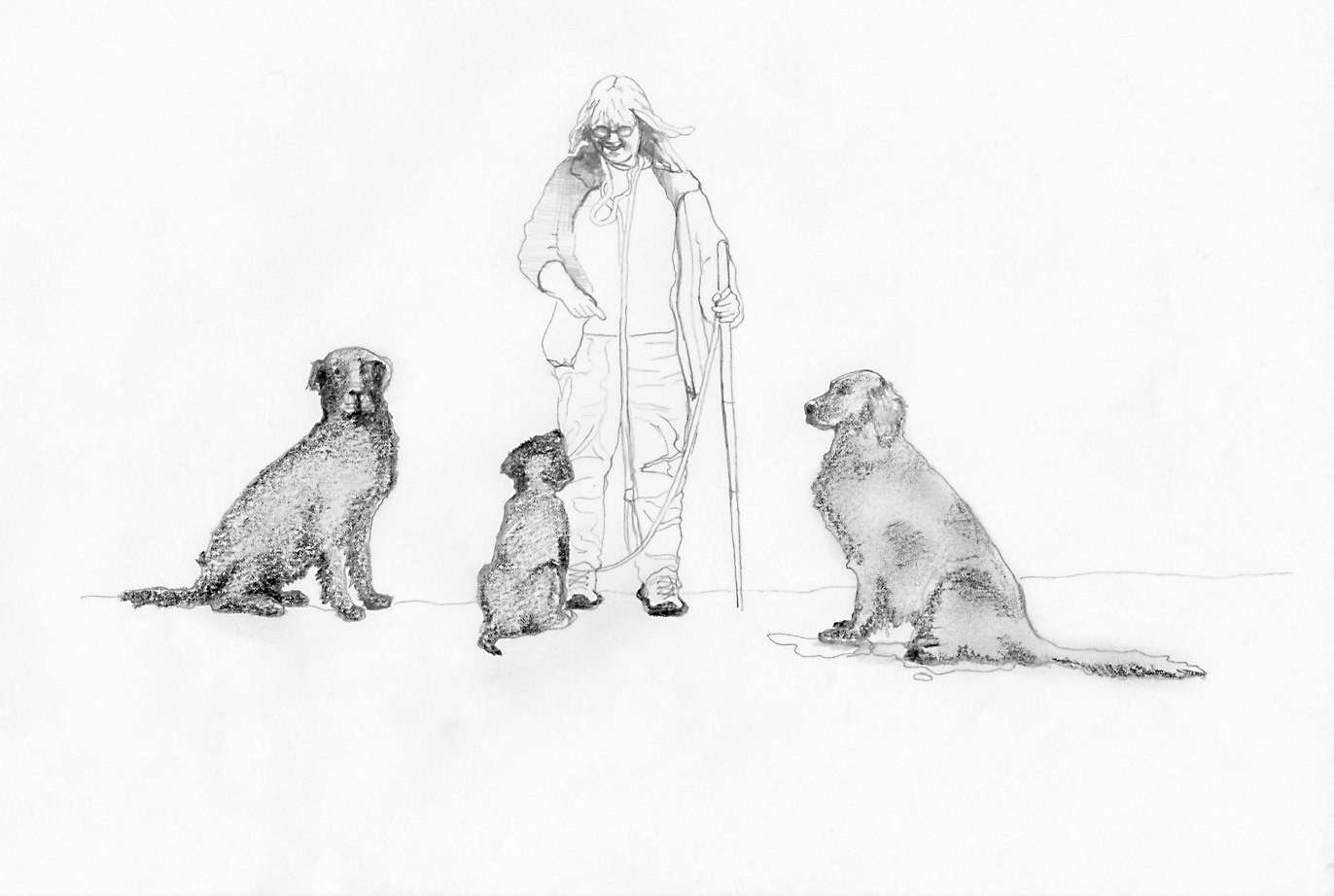 Elian Hattinga van het Sant, hondentrainster