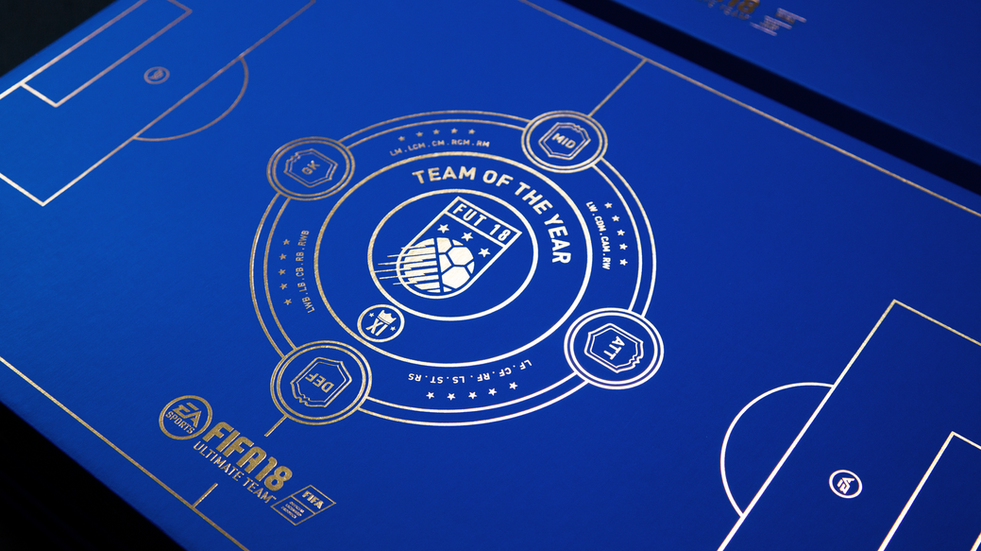 FUT 18 Team of the Year Ballot Box