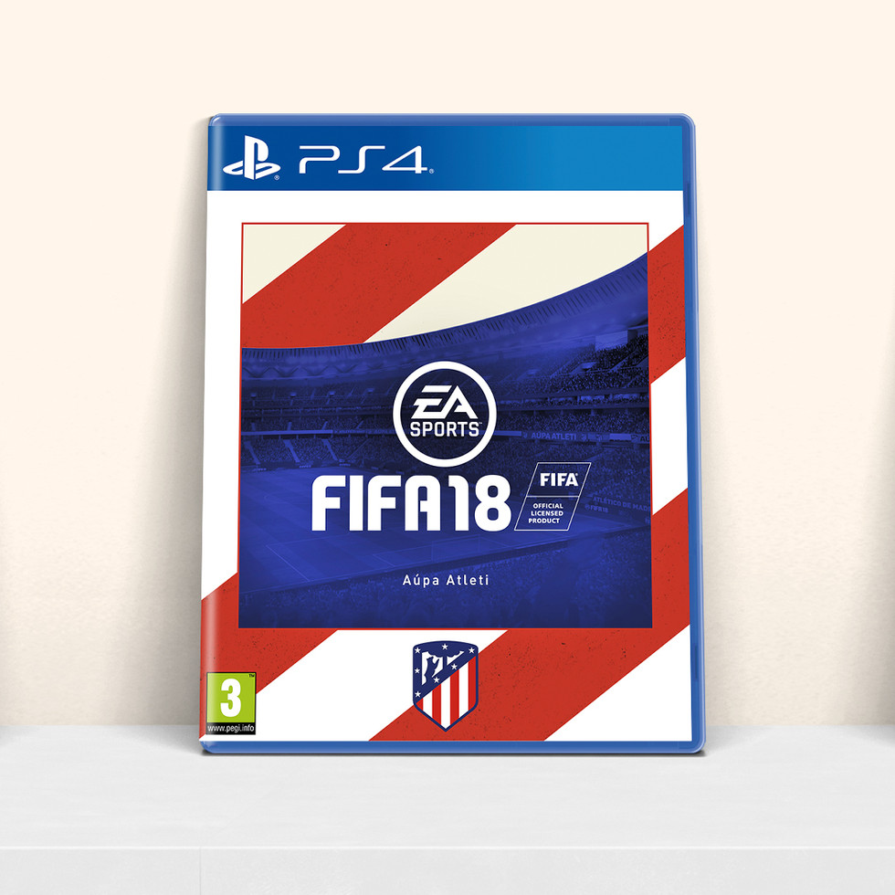 FIFA 18 Athletico Madrid