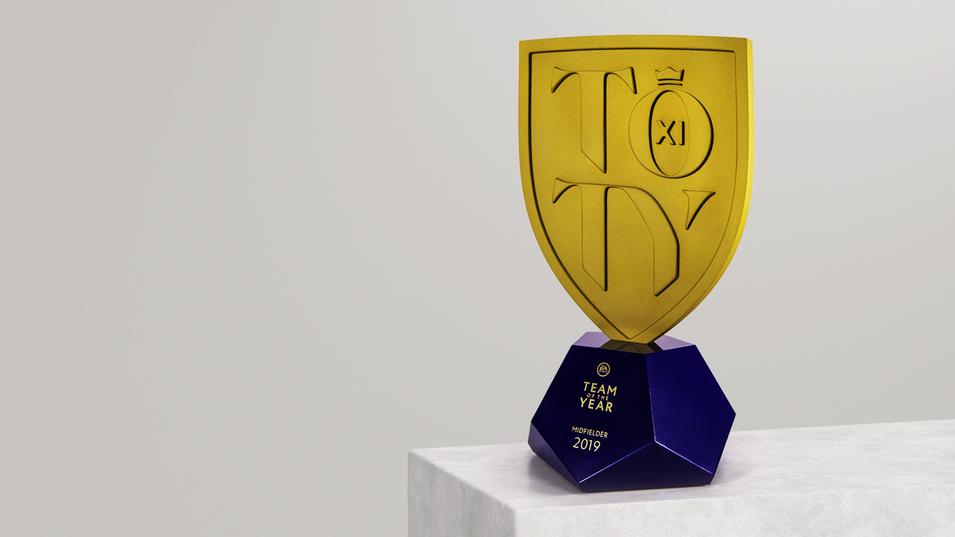 FUT 20 TOTY Trophy Design