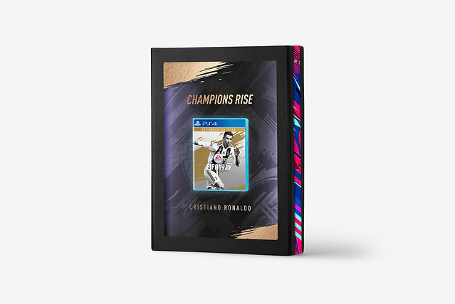 FIFA 19 CHAMPIONS RISE DISPLAY CASE