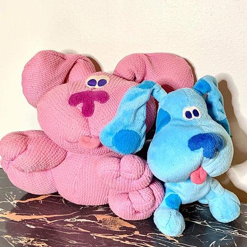 Blue and Magenta