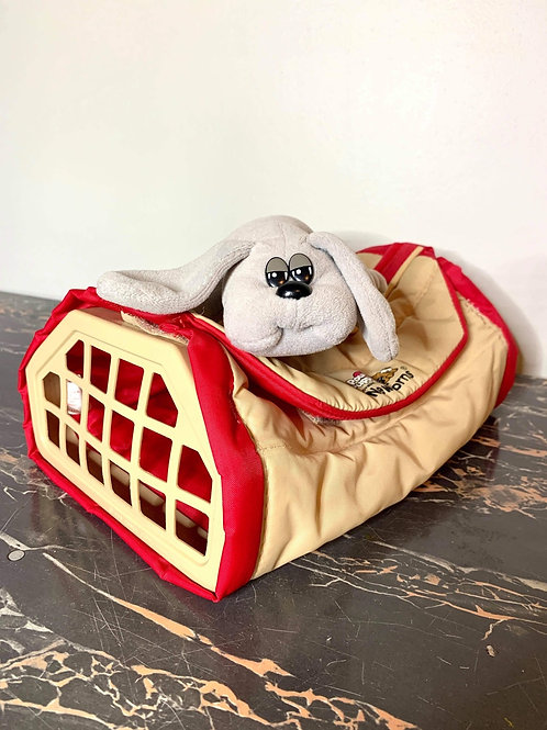 Pound Puppies and Carrier