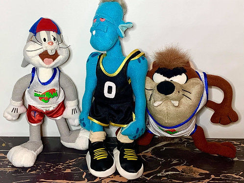 Space Jam Friends (Bugs Bunny, Tasmanian Devil and Nerdluck Alien)