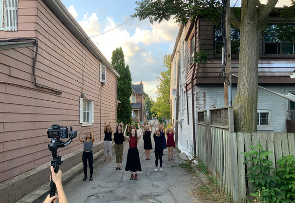 Mio Sakamoto and Community Participants, Filmed by Drew Berry and Allen Kaeja.