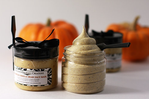 Pumpkin Vanilla Bean Facial Mask