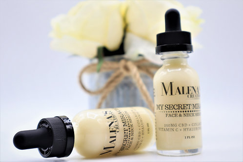 CBD * MY SECRET MIRACLE Face and Neck Serum