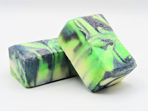 Peppermint Charcoal Facial Soap