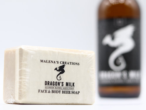 Dragon's Milk Face & Body Beer Soap