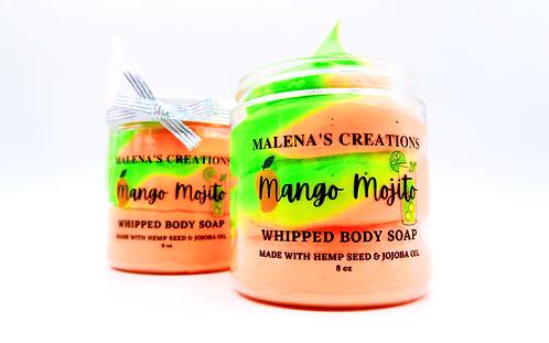 Mango Mojito Whipped Cream Body Soap