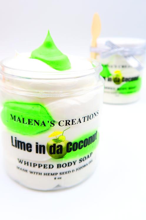 Lime in da Coconut Whipped Cream Body Soap