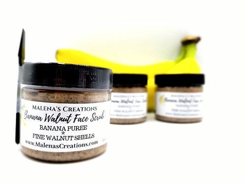 Banana Walnut Facial Scrub