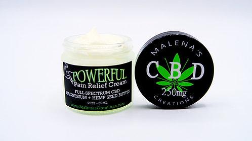 Powerful Pain Relief Cream (CBD + Magnesium)