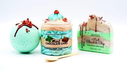 Mint Chocolate Chip Gift Set