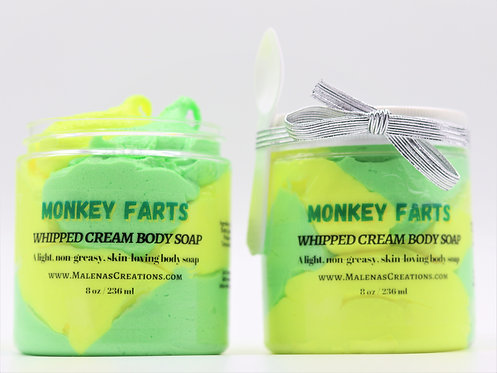 Monkey Farts Whipped Cream Body Soap