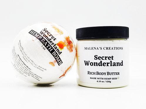 Bath Bomb & New Body Butter (Hemp Seed) Set