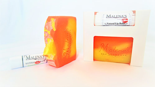 Soap and Lip Balm Gift Set - Lip Balm Gift Set - Soap Gift Set - Gifts under 15