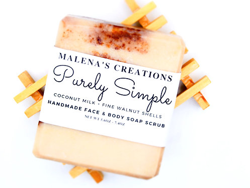 Purely Simple Face and Body Soap Scrub