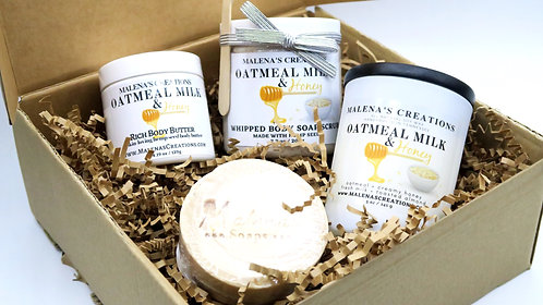 Oatmeal Milk & Honey Gift Box (Free Shipping)