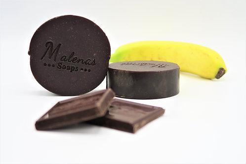 Chocolate Banana Facial Soap