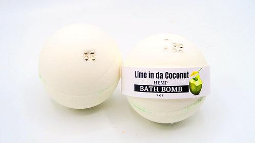 Lime in da Coconut Bath Bomb