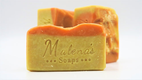 Pumpkin Coconut Milk Face Soap