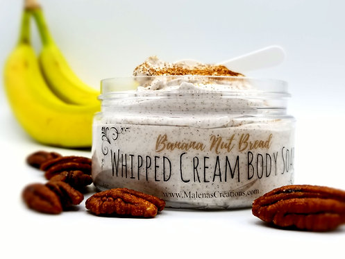 Banana Nut Bread Whipped Cream Body Soap