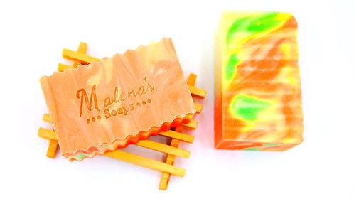 Orange & Lemongrass Face and Body Soap